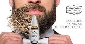 Mann mit Bartöl